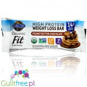 Garden of Life Organic Fit Protein Bars, Peanut Butter