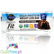 Garden of Life Organic Fit Protein Bars, Chocolate Fudge