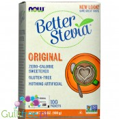 NOW Foods Better Stevia Original słodzik stewia 100 saszetek