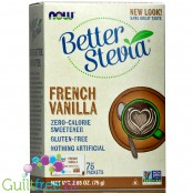 Better Stevia Packets, French Vanilla Zero Calorie Sweetener Packets