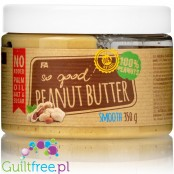 Fitness Authority So Good! Peanut Butter Smooth 100% - peanut butter from roasted peanuts, smoothly ground, with no added sugar