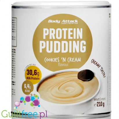 Body Attack Body Attack Proteinowy pudding Truskawkowy
