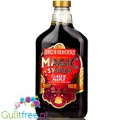 Birch Benders, Magic Syrup, Classic Maple - natural keto syrup with monk fruit