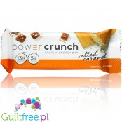 Power Crunch Proteinowy Baton Słodzony Stewią - Power Crunch Bars, Salted Caramel