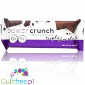 Power Crunch BNRG Triple Chocolate Stevia sweetend protein waffer