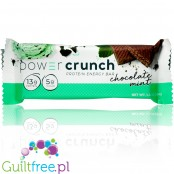 Power Crunch Mint & Chocolate - protein wafer with stevia