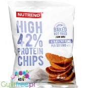 Nutrend Protein Chips Salty - vegan baked protein chips with fava beans