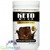 Healthsmart Keto Wise Meal Replacement Shake, Chocolate Fudge Brownie - czekoladowy keto shake z MCT