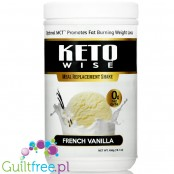 Healthsmart Keto Wise Meal Replacement Shake, French Vanilla
