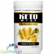 Healthsmart Keto Wise Meal Replacement Shake, Peanut Butter