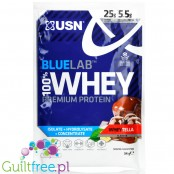 USN Blue Lab Whey Wheytella protein powder 34g