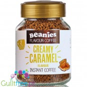 Beanies Creamy Caramel instant flavored coffee 2kcal pe cup