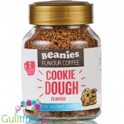 Beanies Decaf Cookie Dough instant flavored coffee 2kcal pe cup