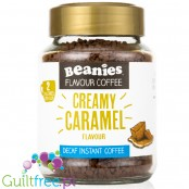 Beanies Decaf Creamy Caramel instant flavored coffee 2kcal pe cup
