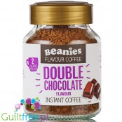 Beanies Double Chocolate instant flavored coffee 2kcal pe cup