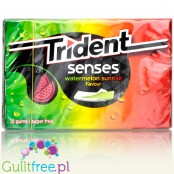 Trident Senses Watermelon Sunrise sugar free chewing gum
