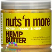 Nuts 'N More Hemp Butter - peanut protein butter with CBD