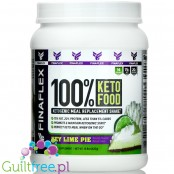 Finaflex 100% Keto Food, Ketogenic Meal Replacement Shake, Key Lime Pie