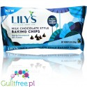 Lily's Sweets, Milk Chocolate Style Baking Chips, No Sugar Added