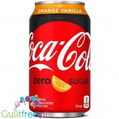 Coca Cola Orange Vanilla Zero USA