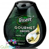 Teisseire Gourmet Drops Vanilla naturally flavoured liquid coffee sweetener