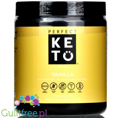 Perfect Keto, Keto Base, Vanilla