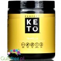 Perfect Keto, Keto Base, Vanilla - ketones beta hydroxy-butyrate (BHB)