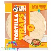 Uncle Jack's High Protein Tortilla Wraps