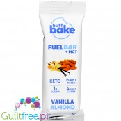 Buff Bake, Keto Fuel Bar + MCT, Vanilla Almond