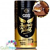 GBS Angel's Touch instant flavored coffee with caffeine boost, Caramel-Cookie Bar