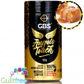 GBS Angel's Touch instant flavored coffee with caffeine boost Salted Caramel