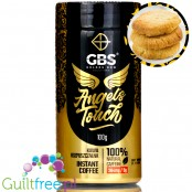 GBS Angel's Touch instant flavored coffee with caffeine boost, Butter Cookie
