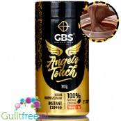 GBS Angel's Touch instant flavored coffee with caffeine boost Chocolate & Nut Cream