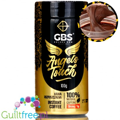Gbs Angels Touch Instant Flavored Coffee With Caffeine Boost Chocolate Nut Cream
