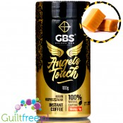 GBS Angel's Touch Creamy Fudge instant flavored coffee with caffeine boost