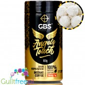Golden Bow Angel's Touch instant flavored coffee with caffeine boost Coconut Island