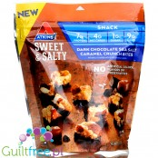 Atkins Nutritionals, Sweet & Salty Crunch Bites, Dark Chocolate Sea Salt Caramel