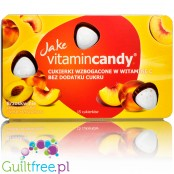 Jake Vitamin Candy Peach - sugar free candies with vitamin C
