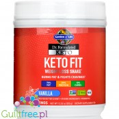 Garden of Life Keto Fit Weight Loss Shake, Vanilla - koktajl z Ashwagandha, Svetol ® & Coffeeberry ®