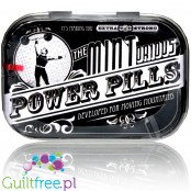 Nostalgic Art Power Pills sugar free mint candies in designer's case
