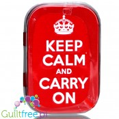 Nostalgic Art Keep Calm sugar free mint candies in designer's case