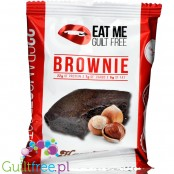 EatMe Guilt Free, Brownie, Hazelnut low carb, flourless, high protein brownie