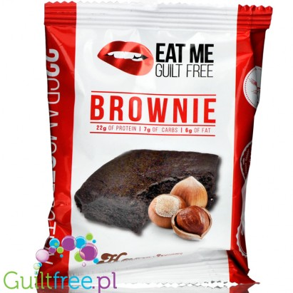 EatMe Guilt Free, Brownie, Hazelnut