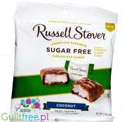 Russel Stover Stevia Coconut Chocolate sugar free chocolate candies