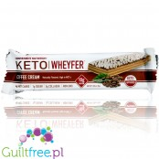Convenient Nutrition, Keto Wheyfer Bar, Coffee Cream