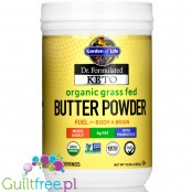 Garden of Life, Dr. Formulated Keto Organic Grass Fed Butter Powder