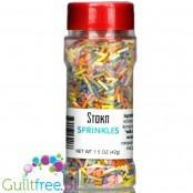 Stoka Nutrition Sugar Free Rainbow Sprinkles