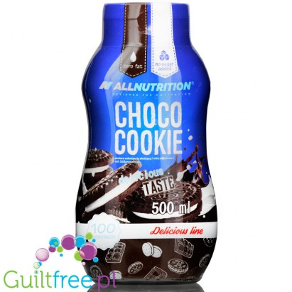 AllNutrition Chocolate Cookie zero kcal syrup