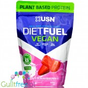 USN DietFuel Vegan Protein Meal Replacement Shake, Strawberry 0,88kg