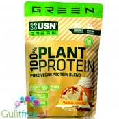 USN Green 100% Pure Vegan Protein Blend, Vanilla & Maple 0,9kg